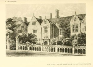 The Old Manor House, Harlaxton. Source: Richardson et. al , 1915 Old English Mansions