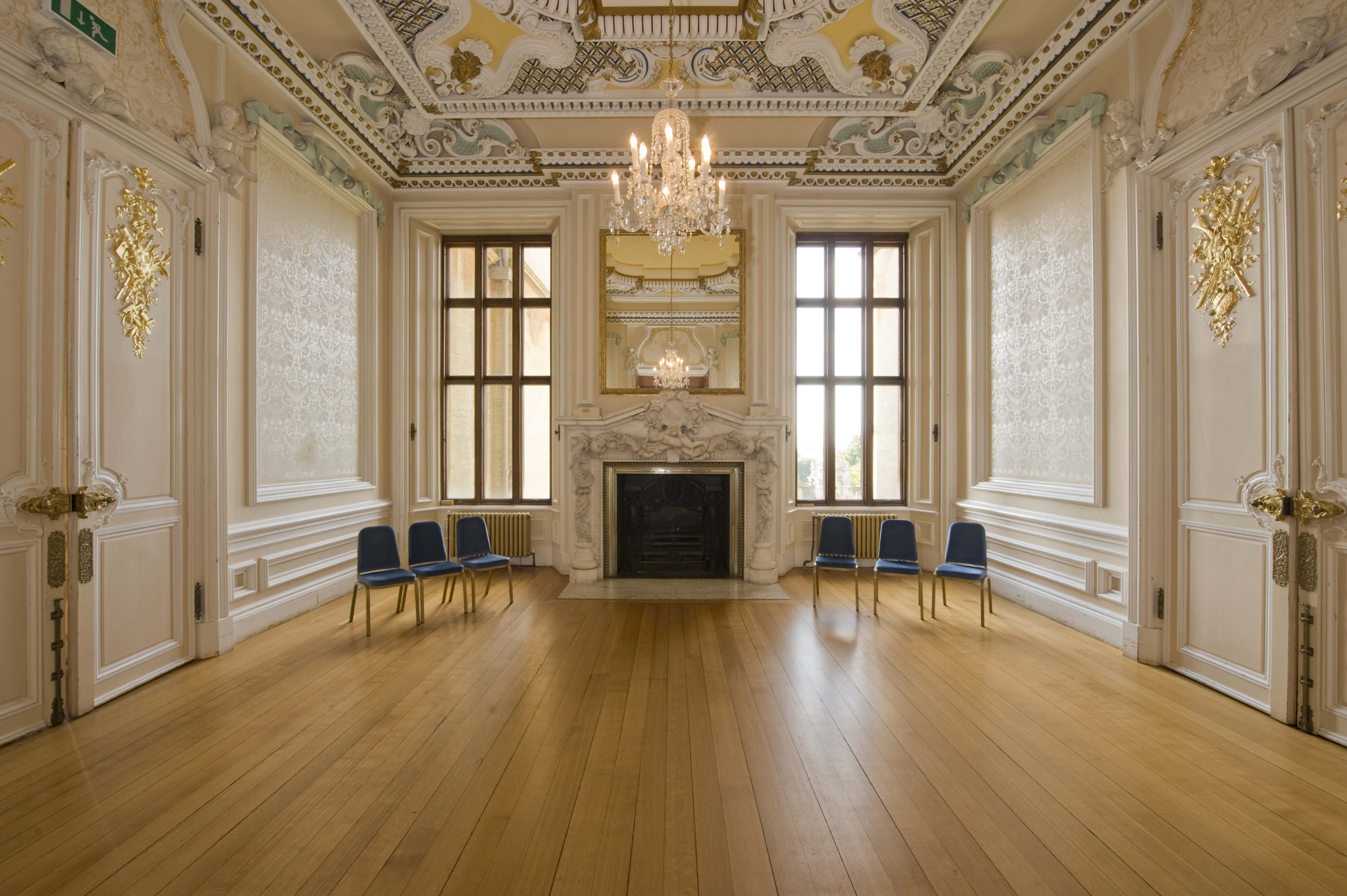 Ante Room Harlaxton Manor Archives