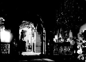 Entrance Hall c.1937 in Violet Van der Elst's time