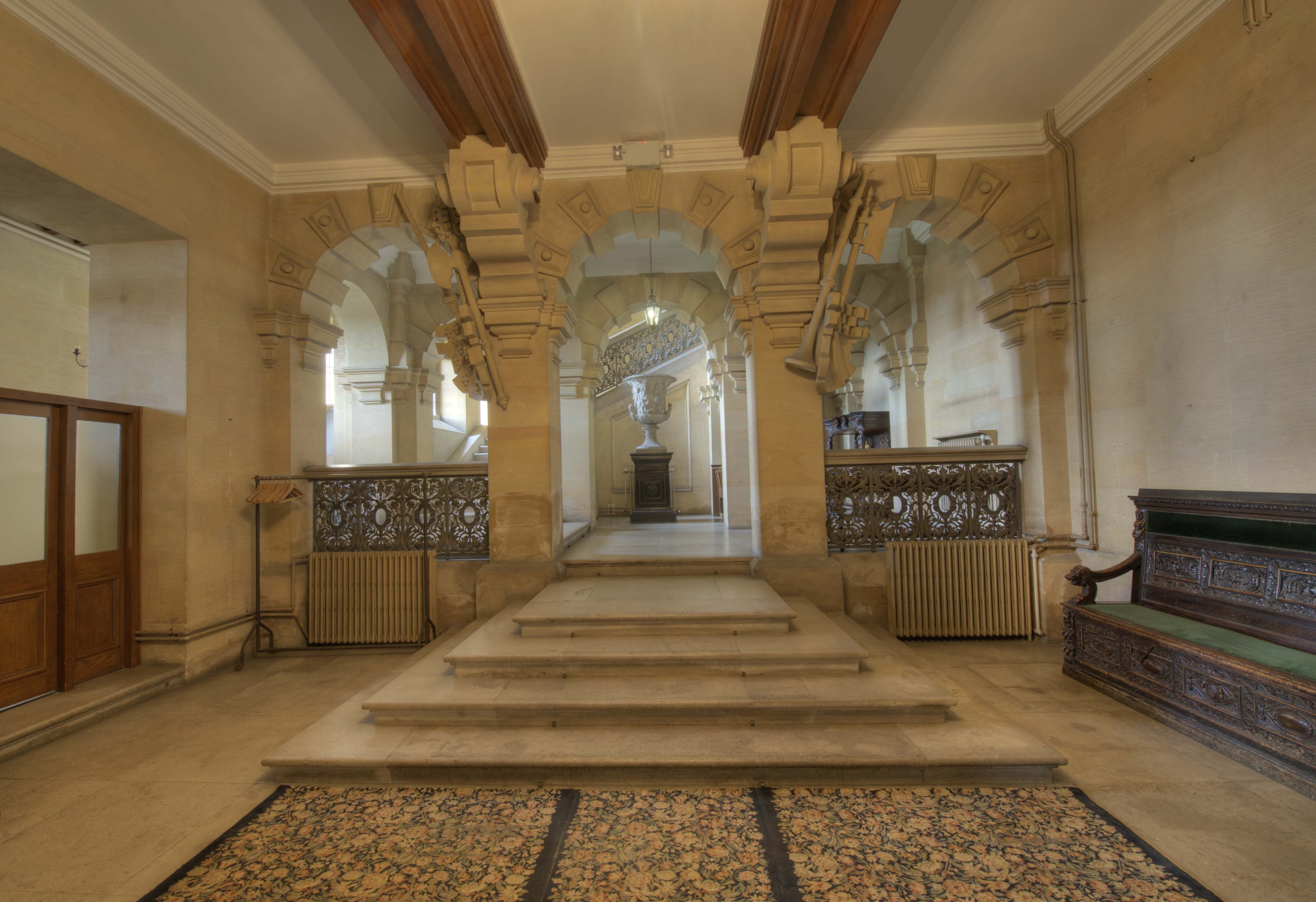 Entrance Hall Harlaxton Manor Archives - Dining Room Doors