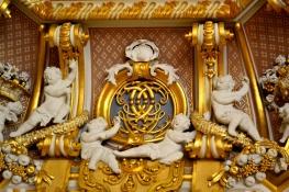Gold Room cornice detail