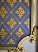 Gold Room wallpaper detail