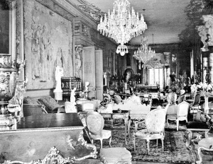 The Long Gallery in Violet Van der Elst era from Picture Post, 2 September 1939