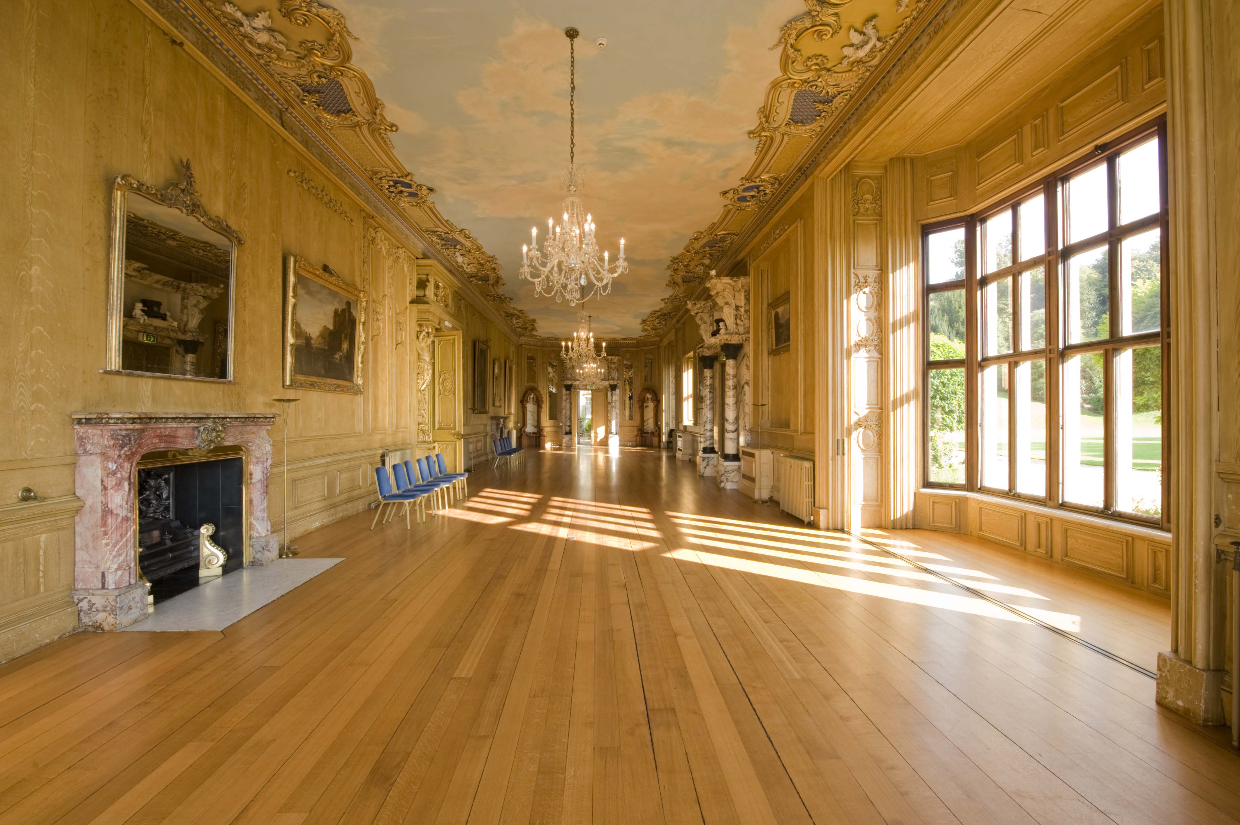 Long Gallery Harlaxton Manor Archives
