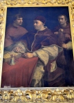 Portrait of Leos with Cardinals Giulio de Medici and Luigi de Rossi