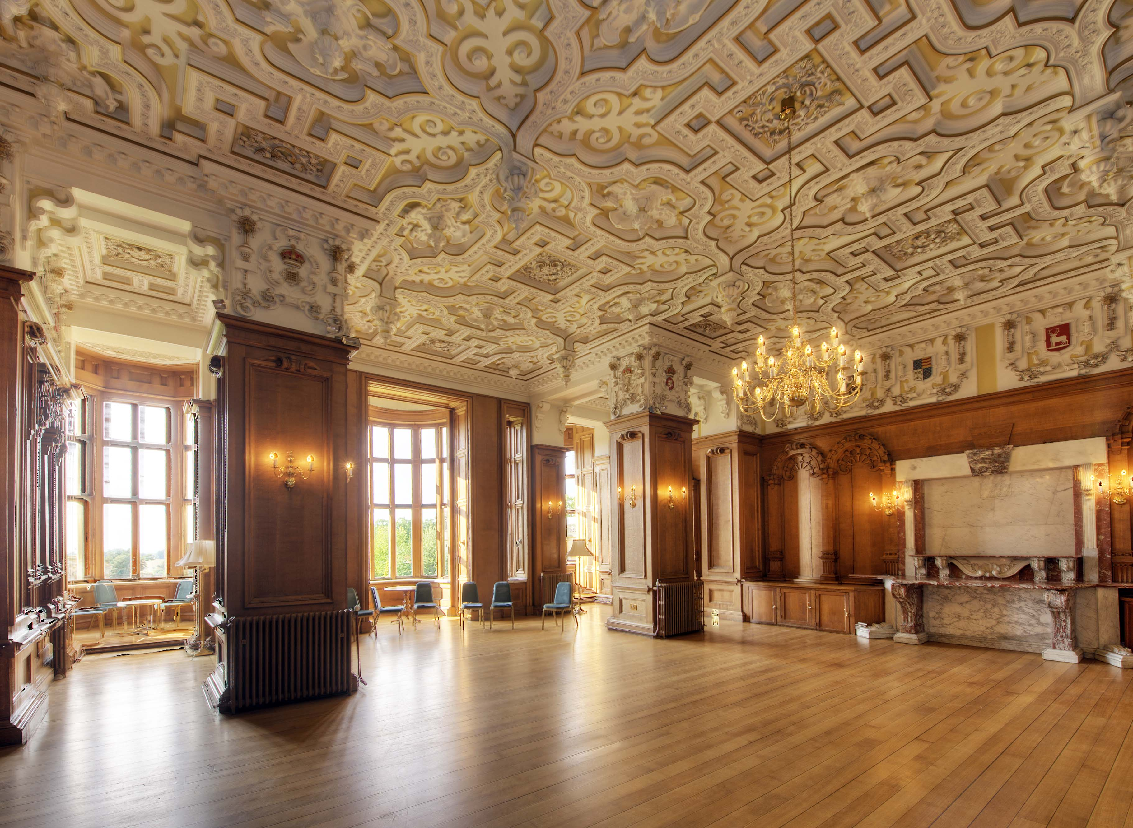 State Dining Room Harlaxton Manor Archives