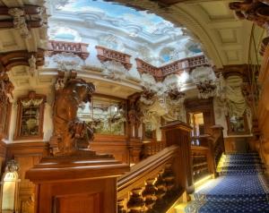 Cedar Staircase
