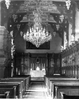 Jesuit chapel in the Great Hall , 1948-65