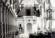 Great Hall in Pearson Gregory's time, 1906