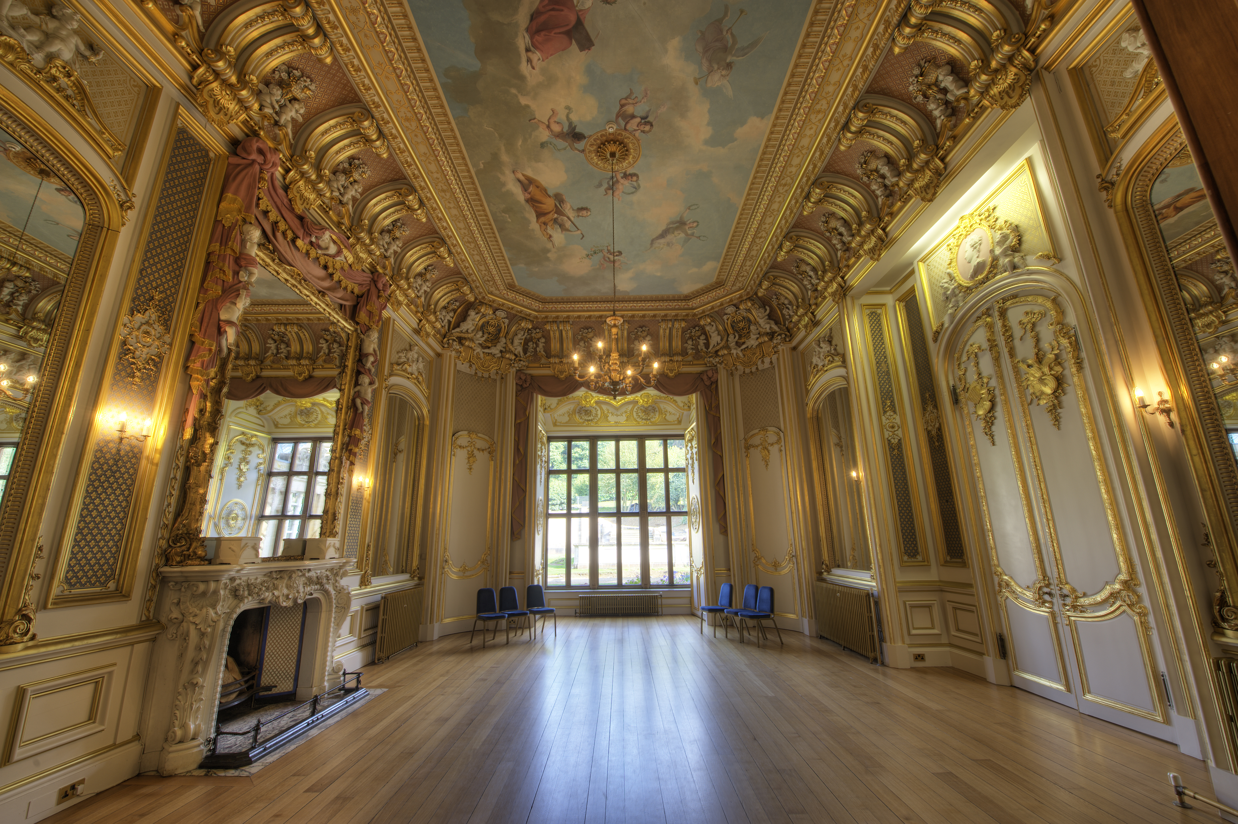 Gold Room | Harlaxton Manor Archives