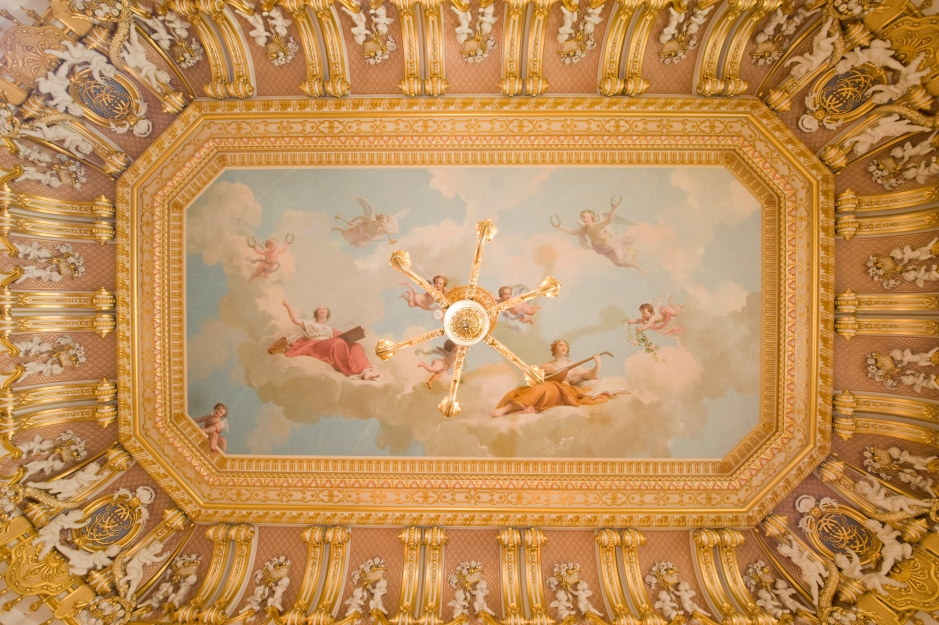 Gold Room ceiling