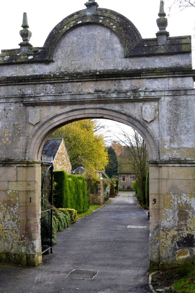 The Old Manor House Gates, Rectory Lane, Harlaxton
