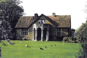 The original doorway of the old manor
