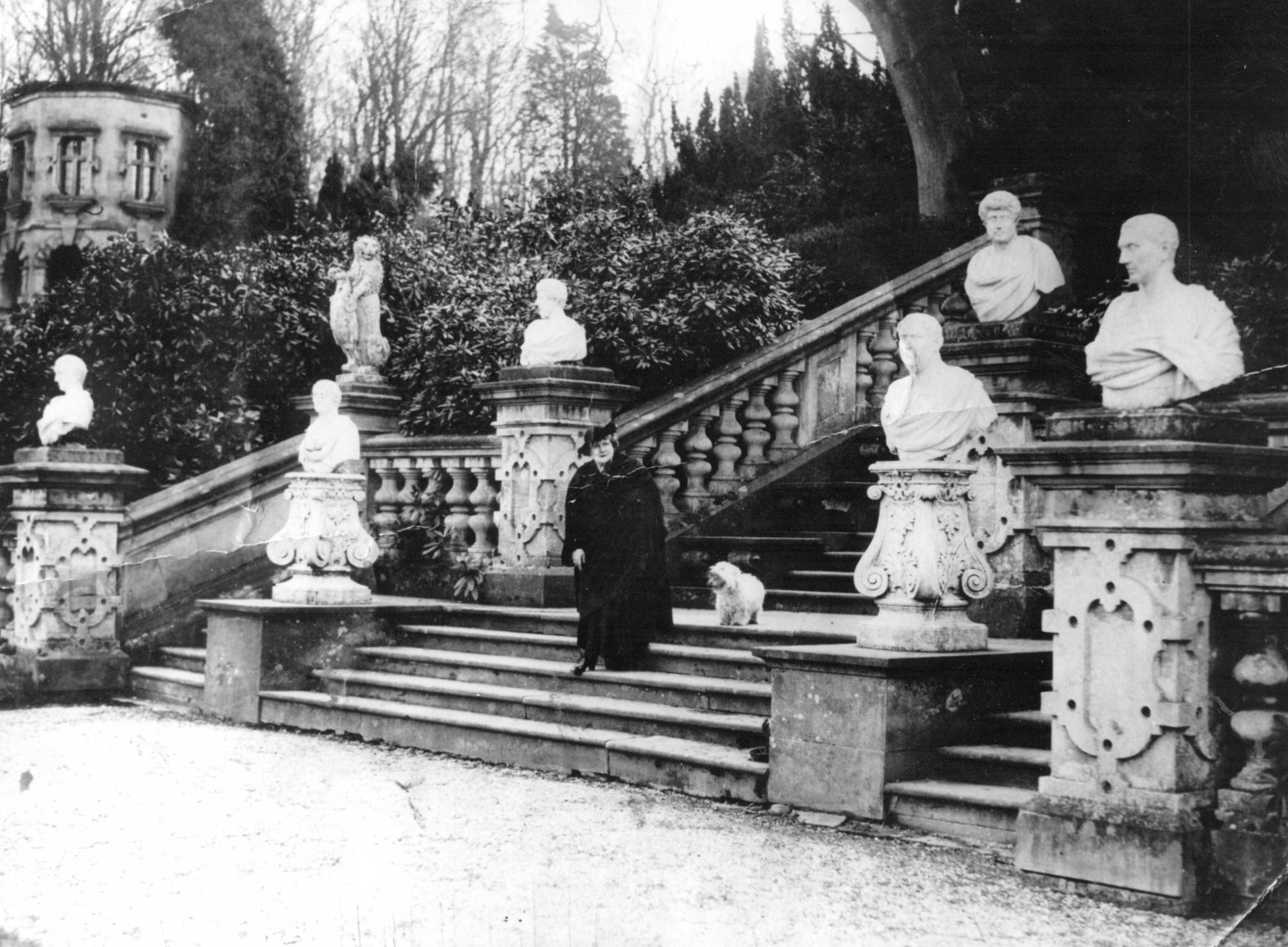 harlaxton manor to grantham castle
