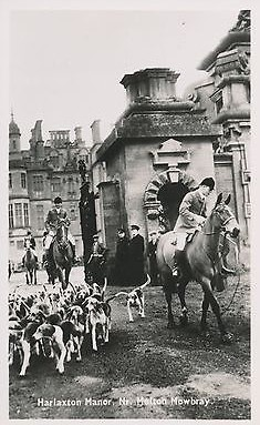 Postcard-Harlaxton-Manor-Hunt