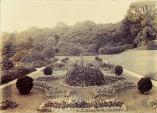 The original garden, 1920s
